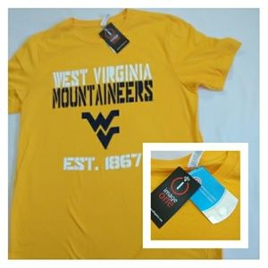 NWT Men's West Virginia Mountaineers Large Shirt